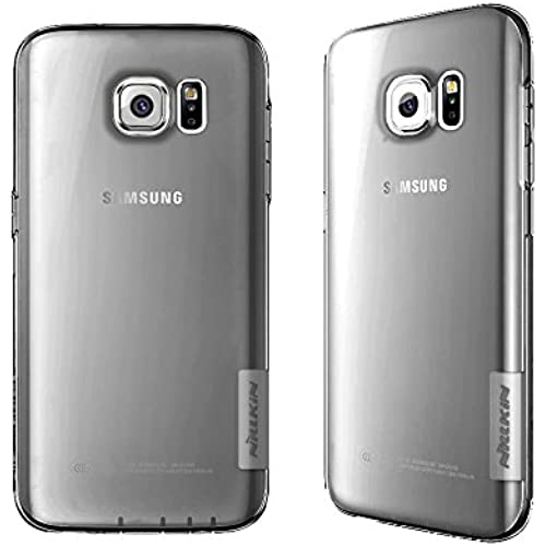 Galaxy S7 Case, Nillkin 0.023 ShockProof Ultra Thin Soft TPU Slim Transparent Back Case Cover With Dust Plug for Samsung Galaxy S7 (2016) - Grey Sales