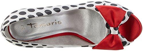 Tamaris Women's 29300 Open-Toe Heels Multicolor (Blk Dots Comb 026) 110BU1f