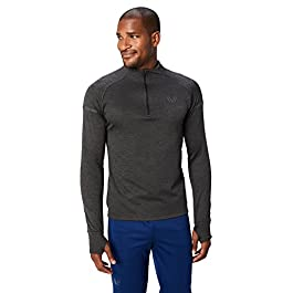 Amazon Brand – Peak Velocity Men's Thermal Waffle 'Build Your Own' Athletic-Fit Run Tops (Hoodie, Quarter-Zip) title