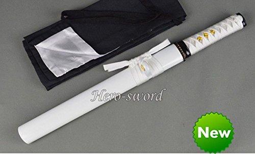 Handmade Carbon Steel Japanese Ninja Samurai Katana Sharp Blade Tanto Full Tang
