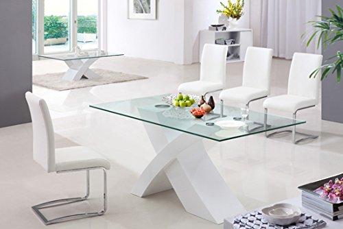 Tavoli Da Pranzo Design : Tavolo da pranzo cucina soggiorno ufficio design moderno base in
