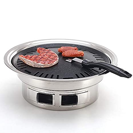 Amazon.com: -Parrillas de CarbónSmall Barbecue Grill ...