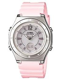 [Casio] CASIO watch WAVECEPTOR Uebuseputa Ladies Solar radio watch Pink MULTIBAND6 multi-band 6 LWA-M142-4AJF Ladies 4971850966654