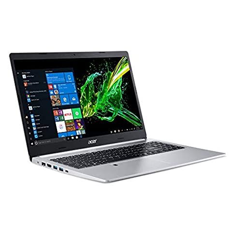 - 41Ty8q6KoaL - Acer Aspire 5, 15.6″ Full HD IPS Display, 8th Gen Intel Core i5-8265U, 8GB DDR4, 256GB PCIe NVMe SSD, Backlit Keyboard, Fingerprint Reader, Windows 10 Home, A515-54-51DJ
