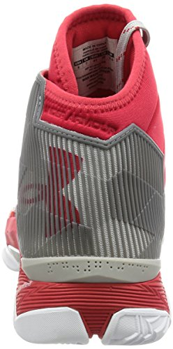 UA GS CURRY 2.5 rojo, (Red/Aluminum/Red)