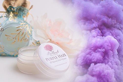 "Womens Solid Perfume Fragrance .50 oz ""Purple Haze"" Sandalwood Patchouli Dragons Blood"