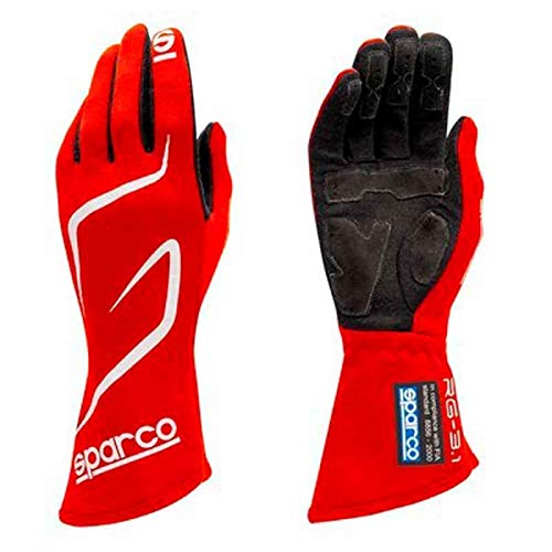 Sparco 00130809RS Guantes 9 Rojo