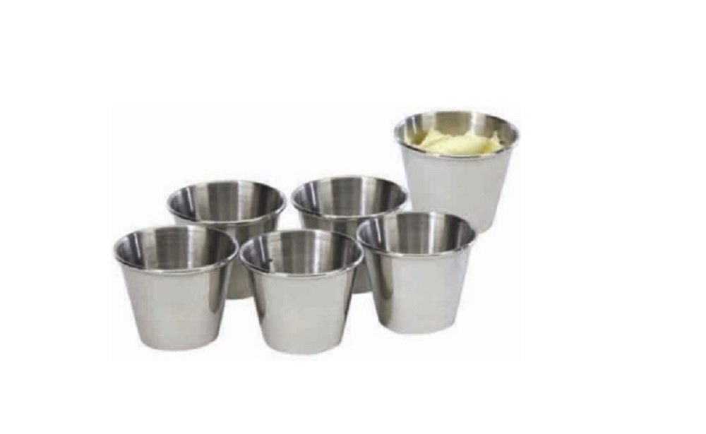 2½ Oz Condiment Sauce Cups- Set of 6. MSR