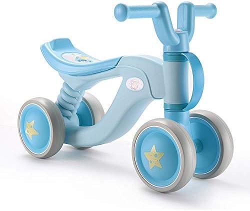 軽量バランスバイク、ベビーウォーカースクーターツイストカー1〜3歳ベビーギフト4ラウンド持ち運びが簡単無毒な素材ペダルなし