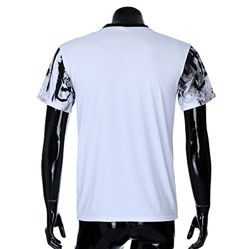 Blouse Maille Muscle Night Boy Top Shirt Bar Courtes Fit Club Tunique Solide Tee Outwear Slim Sweat Blanc Hommes Manches Moika Kimono TqSYT