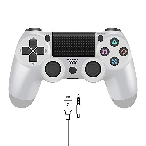 Wireless Controller for PS4, YCCTEAM Game Controller for Playstation 4/Pro/Slim, Gamepad Joystick Remote with Dual…