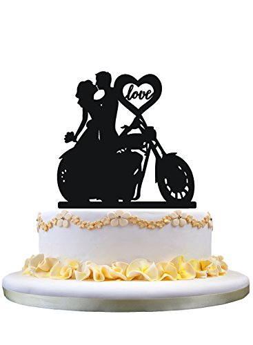 dding Cake Topper with love heart ()