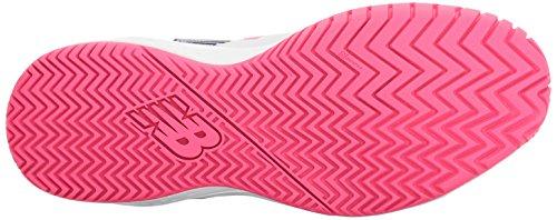 Nuovo Equilibrio Womens 696v3 Scarpe Da Tennis Bianco / Rosa Alfa
