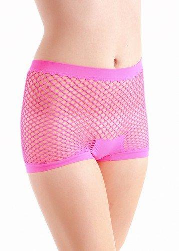 Yelete Ladies Stretchy Fishnet Shorts product image