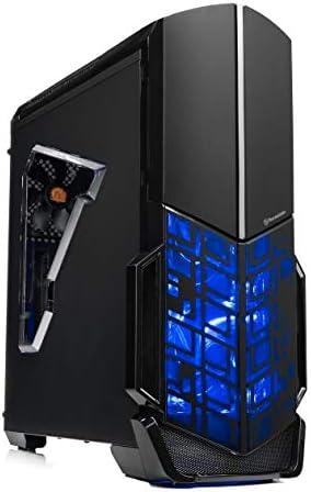 [Ryzen & GTX 1050 Ti Edition] SkyTech Shadow Gaming Computer Desktop PC Ryzen 1200 3.1GHz Quad-Core, GTX 1050 Ti 4GB, 8GB DDR4 2400, 1TB HDD, 24X DVD, Wi-Fi USB, Windows 10 Home 64-bit (Renewed)