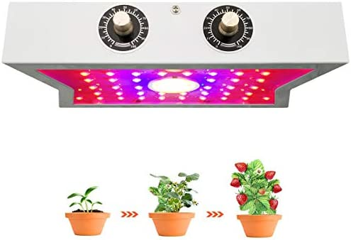 LED Grow Lights for Indoor Plants, Alitade 1200W COB Full Spectrum LED Grow Light with Adjustable Switch for Gardening Indoor Greenhouse Tent Planting Veg