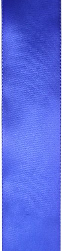 Kel-Toy Double Face Satin Ribbon, 1.5-Inch by 50-Yard, Royal Blue -