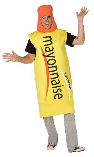 Mayonnaise-Kostüm für Erwachsene Taille Unique