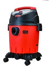 مكنسة كهربائية من بلاك اند ديكر بتصميم برميل للتنظيف الجاف والرطب، 1400 واط