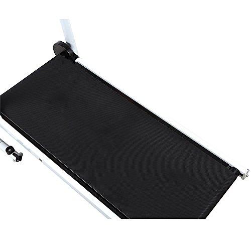 Goplus Treadmill Desk: Folding Manual Treadmill Incline Home GYM Maching Cardio