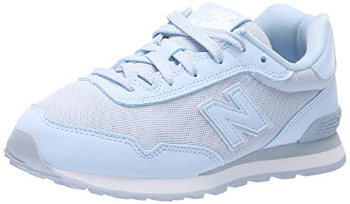New Balance Boys' 515v1 Sneaker, Ice Blue/Silver, 2 M US Little Kid