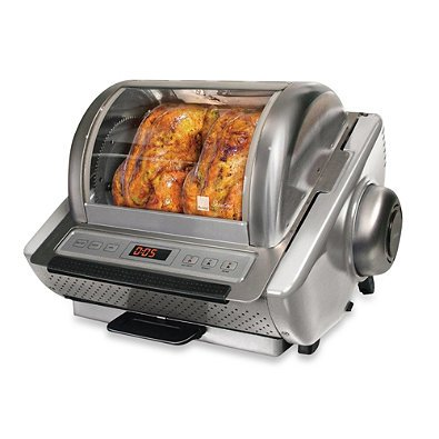 Ronco EZ Store Series Rotisserie Oven in Silver