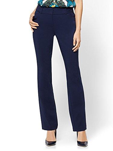 New York & CO. 7Th Avenue Tall Pant - Straight Leg 12 Grand (New York Stretch Pants)
