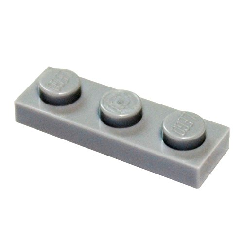 LEGO Parts and Pieces: Light Gray (Medium Stone Grey) 1x3 Plate x200