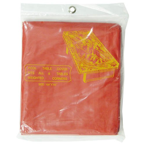 Sterling Gaming Standard 7-Feet Pool Table Cover, Red