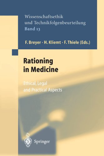 Rationing in Medicine: Ethical, Legal and Practical Aspects (Ethics of Science and Technology Assessment)