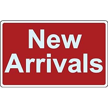 Amazon.com: Venta signo recién llegados negocio Sign tienda ...