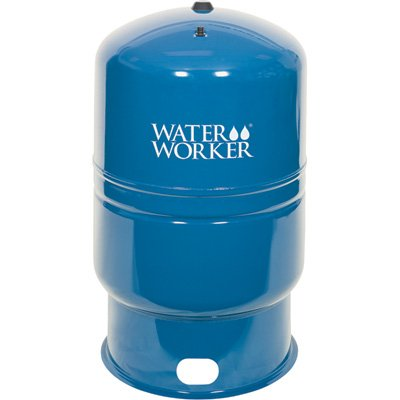 Water Worker Vertical Pre-Charged Water System Tank - 62-Gallon Capacity, Equivalent to a 150-Gallon Capacity Tank, Model# HT62