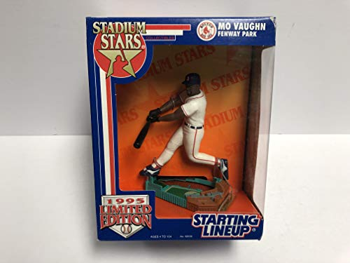 1995 Limited Edition MO VAUGHN Stadium Stars Boston Red Sox Action Figure with Fenway Park Base