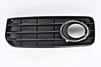 Auténtica Audi A5 S5 08 - 2012 Embellecedores Rejilla de niebla + cromo parachoques de S-Line cubierta izquierda Set: Amazon.es: Coche y moto