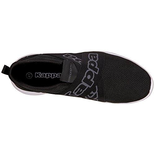 Rapide Plus noir 1116 Ii Chaussure Xl Kappa Gris Herren De Schwarz wvXII8