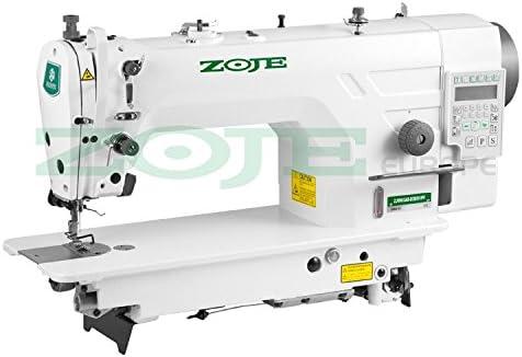 ZOJE La Industria Máquina de Coser Aguja Transporte–Completamente Automático–Completo–Montado (con Mesa y Estructura)