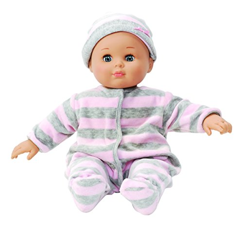 Madame Alexander Infant Doll (Madame Alexander Babble Baby Doll, Pink/Grey)