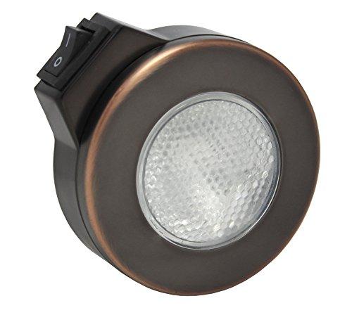 ITC (81295-TF-DB) Prizm Truffle Switched Overhead Halogen Light