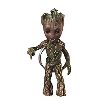 thematys® Baby Groot Llavero - Figura de acción de la película clásica - Perfecto como Regalo - I Am Groot (dictar)