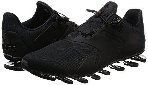 adidas springblade solyce m - Zapatillas de running para Hombre, Negro - (NEGBAS/NEGBAS/NEGBAS) 45 1/3