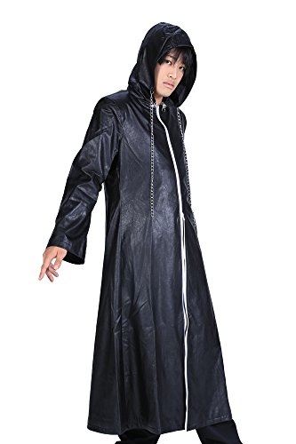 SDWKIT Kingdom Hearts II Cosplay Organization XIII Leather Outfit 2nd Ver L