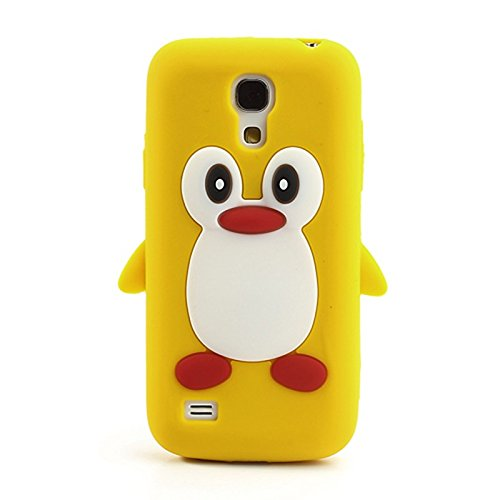 Wonderfultry Case Capa For Galxy S4 Mini Cases 3D Penguin Soft Silicone Phone Cover Coque for Samsung Galaxy S4 Mini i9190