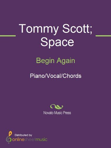 Begin Again Kindle Edition By Space Tommy Scott Arts