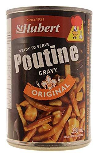 St Hubert Poutine Gravy 398ml Can (Best Gravy For Poutine)