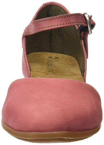 Alla Donna El Caviglia Nd54 sandalo Con Sandali Rosa Cinturino Naturalista wCqCXPx