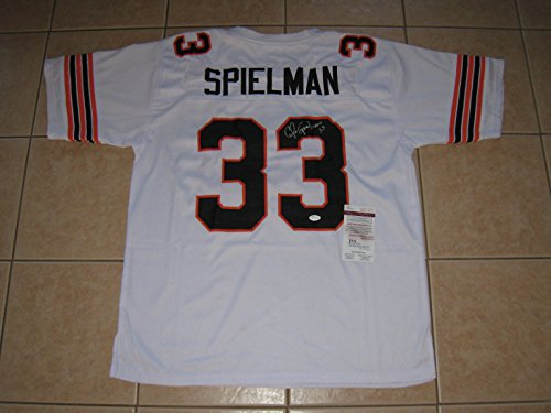 Chris Spielman Autographed Massillon Tigers Custom Sewn Jersey - JSA COA by Miller's Sports Cards & Memorabilia