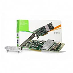 LSI/3Ware LSI00214 (9750-8I SGL) 8 Internal Ports PCI-E Low-Profile SATA/SAS RAID Controller