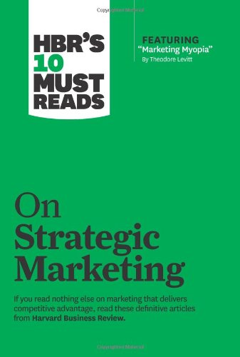 HBRs Must Reads Strategic Marketing product image