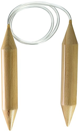 Knit Needle Size - Susan Bates Xtreme Wood Circular Knit Needle Size 70, 46
