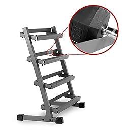 XMark Fitness 3\' Four Tier Dumbbell Rack XM-3109.1